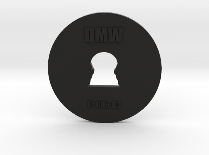 Clay Extruder Die: Footer 008 03 3d printed