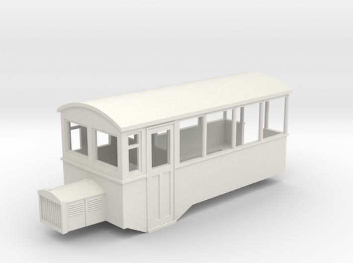 009 HOe Railbus 43 semi-open 3d printed