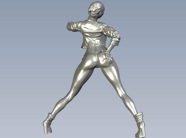 1/35 scale nose-art striptease dancer figure B x 1 3d printed