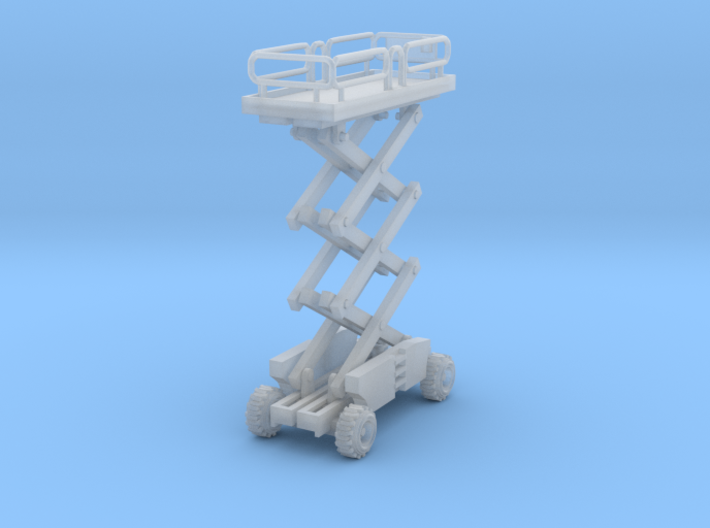 Scissor Lift Z Scale 3d printed one Scissor Lift Z scale