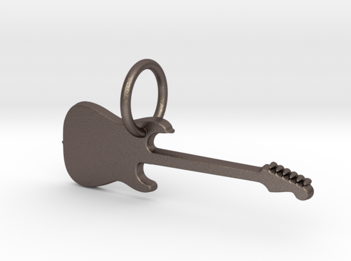 keychain_guitar1 3d printed