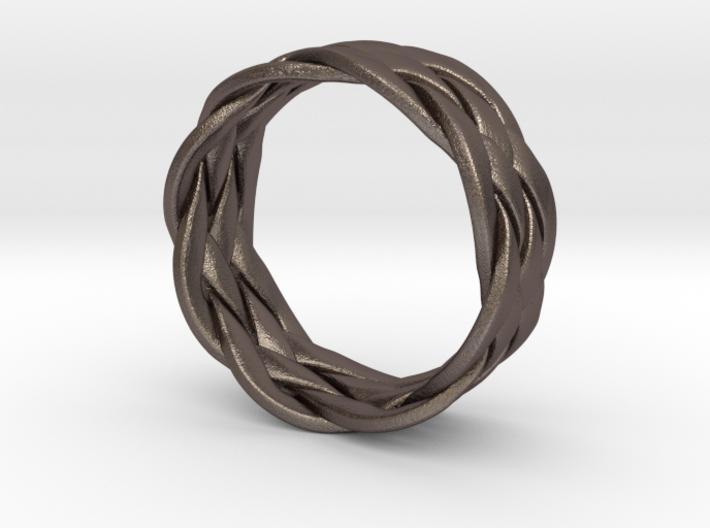 Turkshead Ring - size 6.5 3d printed