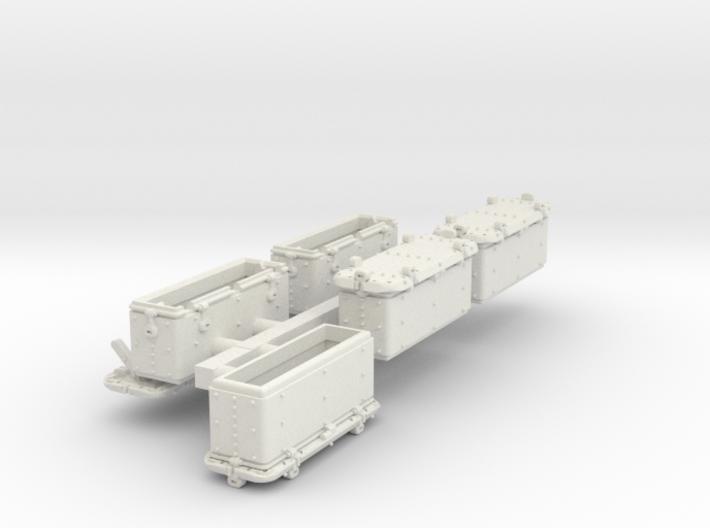 1/72 Oerlikon US Navy Ammo Locker SET 3d printed