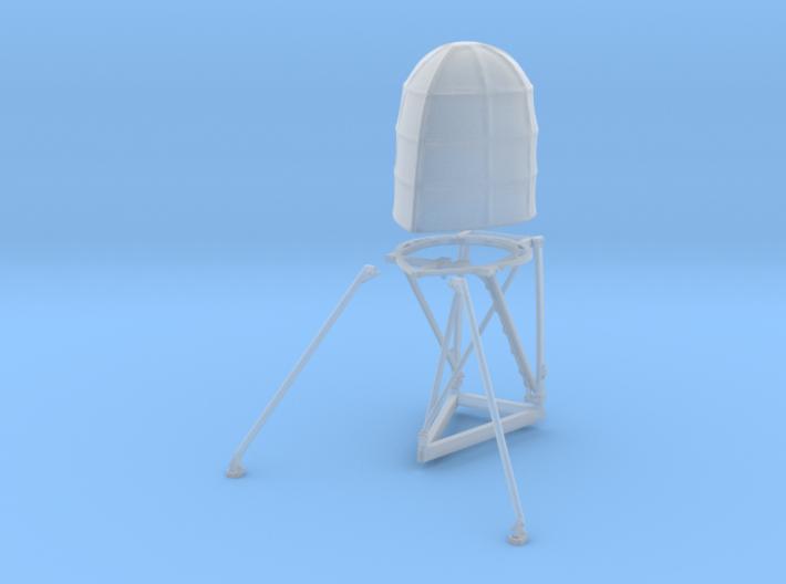 1-48 PT Boat Beehive Radar SET 3d printed