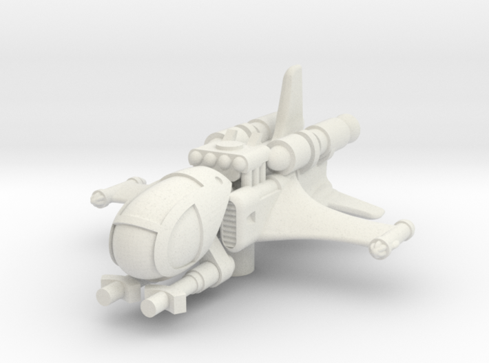 IRD-A starfighter (1/270) 3d printed