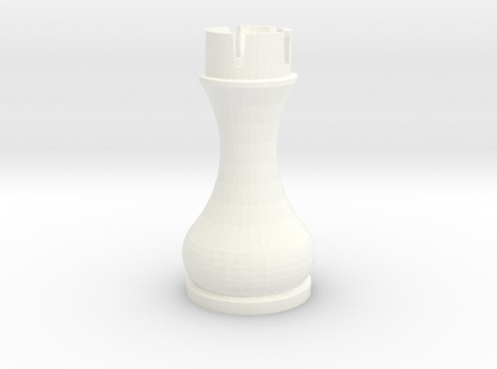 Pomo Rook 3d printed