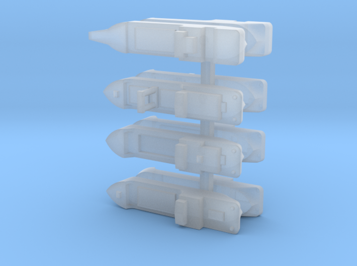 "IJN Coastal Freighters ""Sea Truck"" 1/1250 3d printed"
