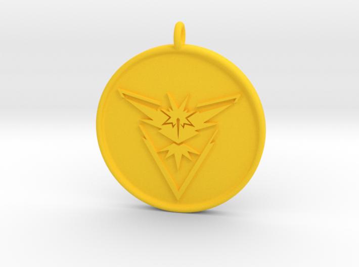 23+ Pokemon Go Yellow Team Logo Background