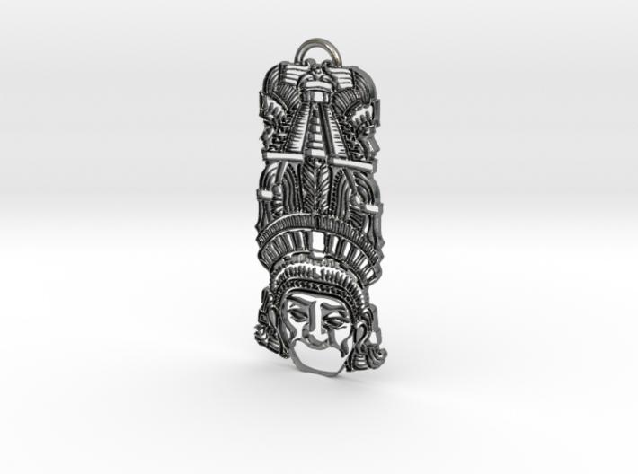 Aztec Totem Pendant 3d printed