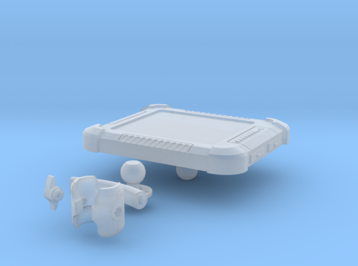 1:6 scale Hasbro HMMWV Computer and stand 3d printed