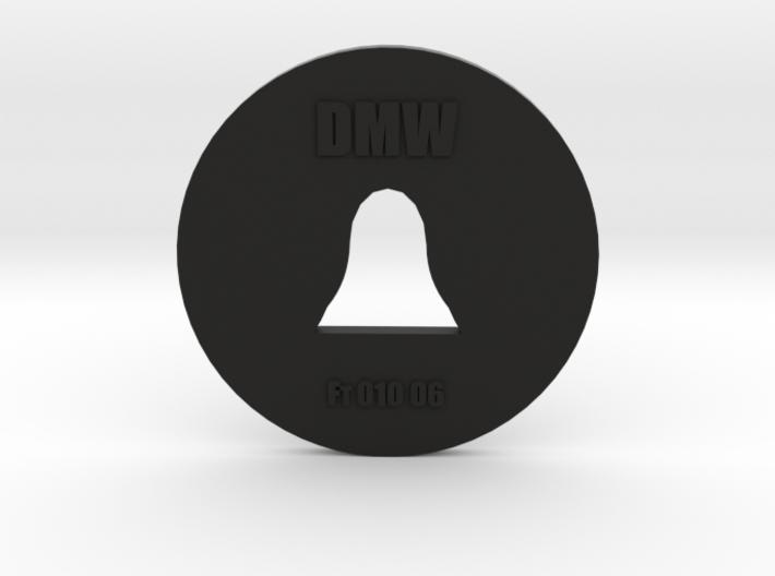 Clay Extruder Die: Footer 010 06 3d printed