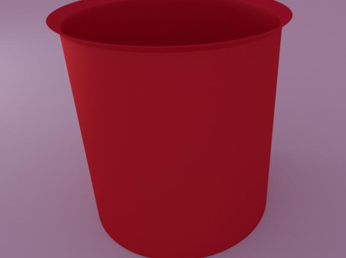 Spherical Planter1 (floral Patterned) Inner Pot 3d printed render