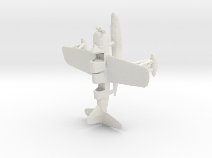 1/144 Scale Vought OS2U Kingfisher 3d printed