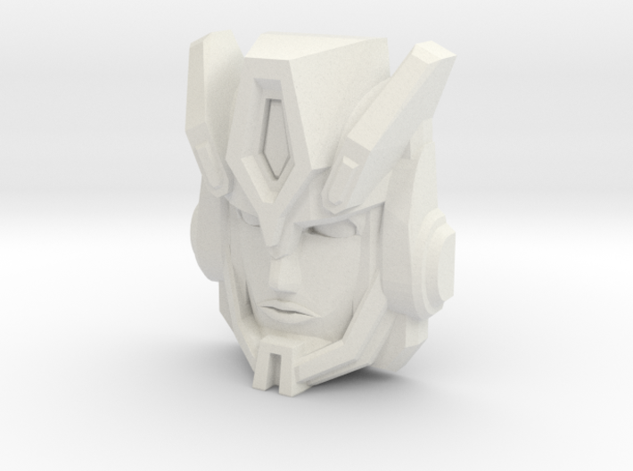 Cybertron Override Faceplate (Titans Return) 3d printed