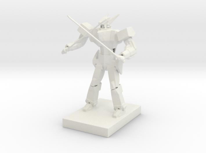 Anime style mecha 3d printed