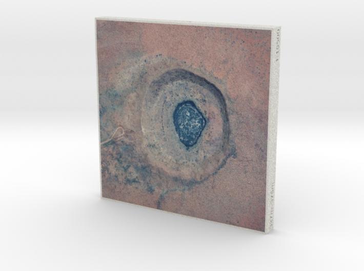 4''/10cm Wolfe Creek Crater, Western Australia 3d printed