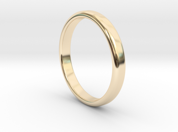 Ring Band Size 8 3d printed