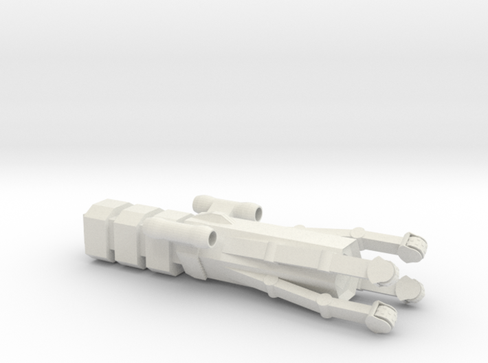 Type 17 Mining Ship 3d printed