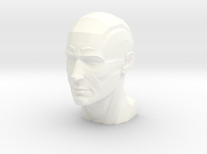 Male Planar Head 3d printed
