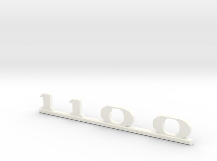 """Immortan Joe """"1100"""" Leg Badge 3d printed"""