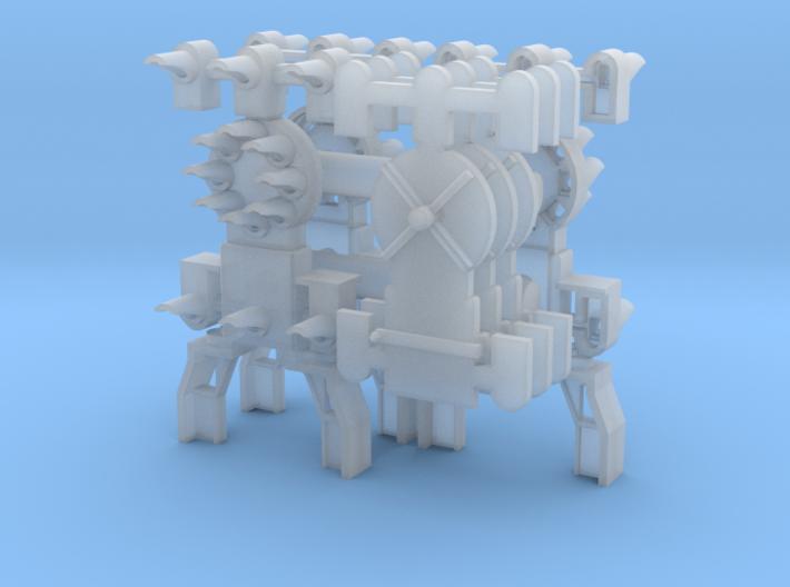 Dwarf B&O CPL Multi-Config(3) - HO 87:1 Scale 3d printed