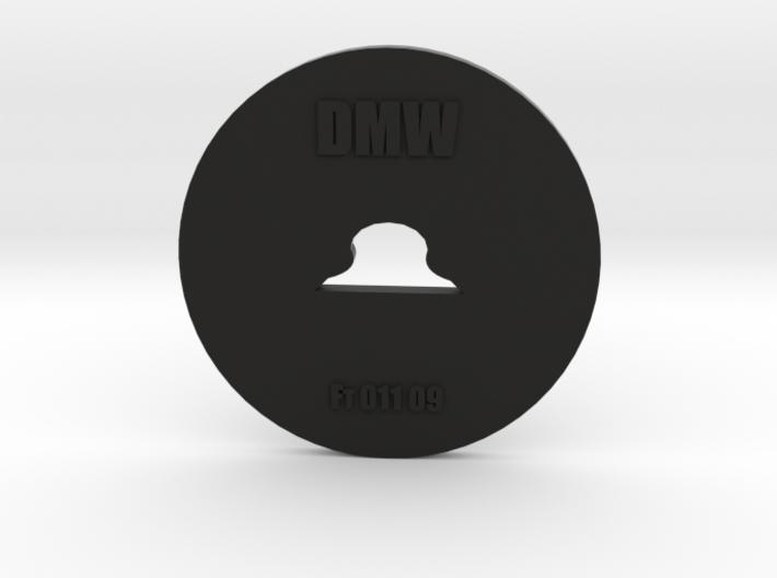 Clay Extruder Die: Footer 011 09 3d printed