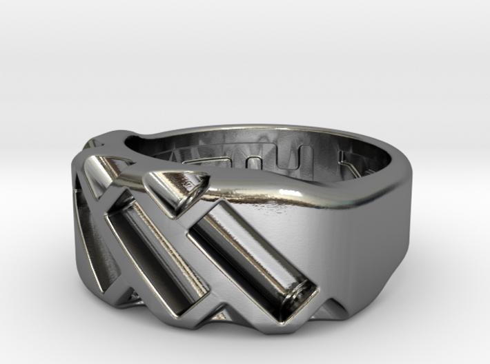 US4.5 Ring XVII: Tritium 3d printed