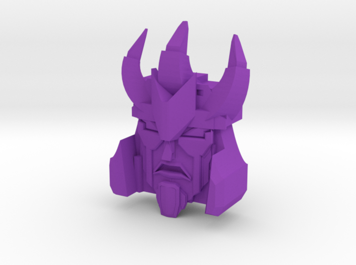 Maniac Tyrant Faceplate 3d printed
