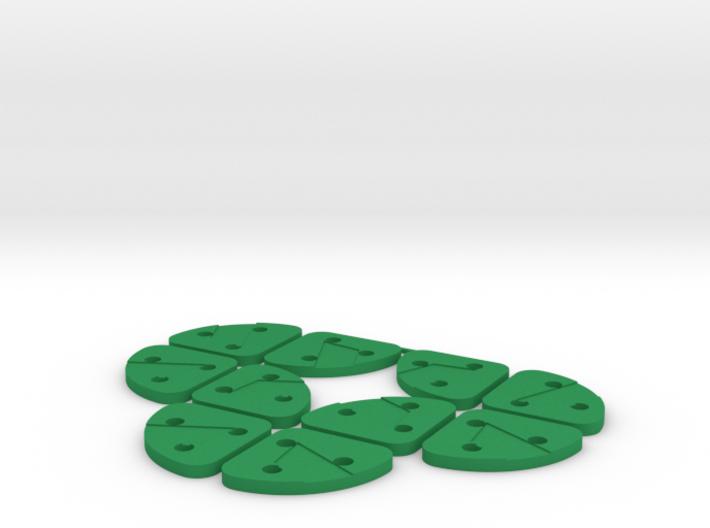 Multi Strip Lace Cutter : Spacers3mmx10pcs 3d printed