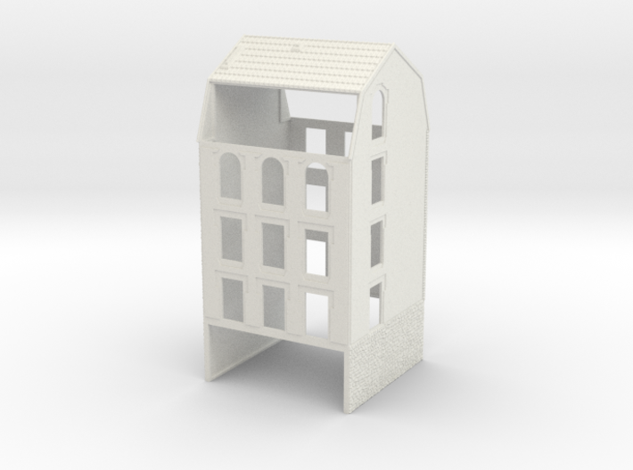 NVIM41 - City buildings 3d printed
