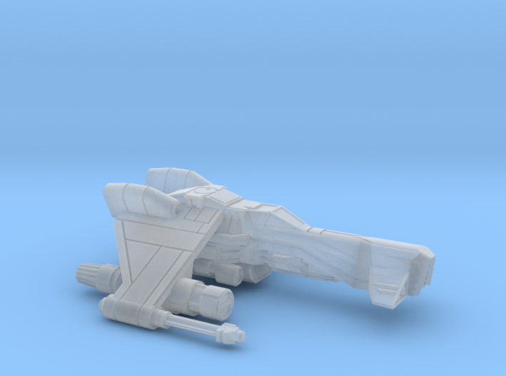 Kihraxz Style Vaksai Starfighter - Variant 1A 3d printed