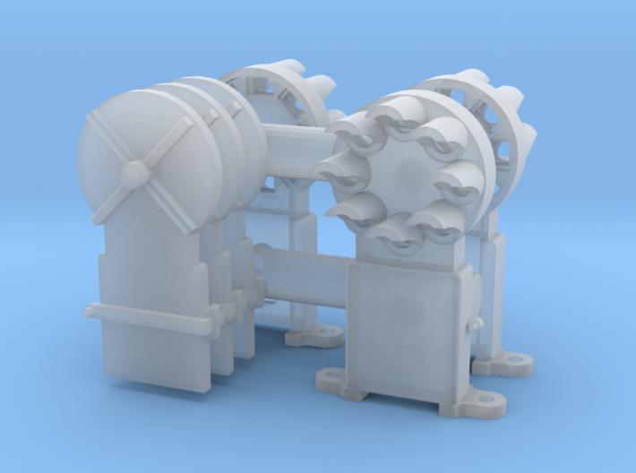 Dwarf B&O CPL(3) - HO 87:1 Scale 3d printed