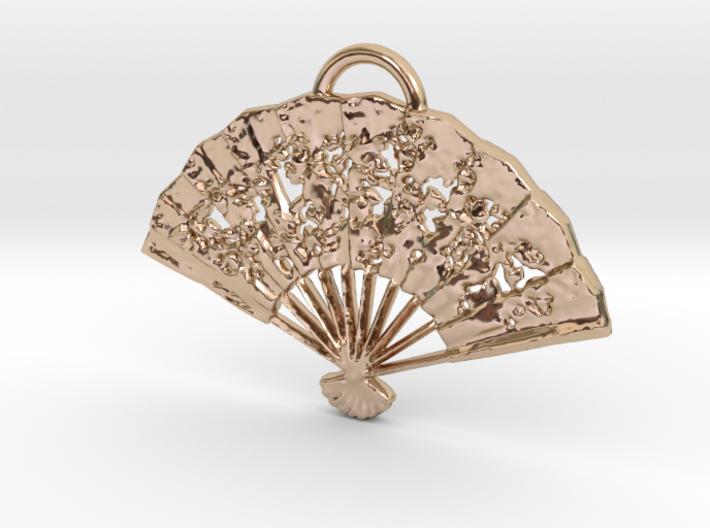 Fan1 Pendant 3d printed