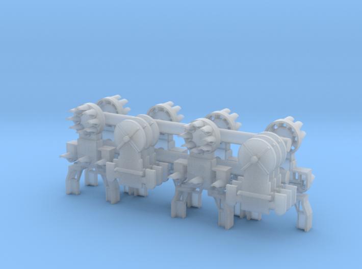 Dwarf B&O CPL-LowerSpdLamps-GndBrkt(6) 3d printed
