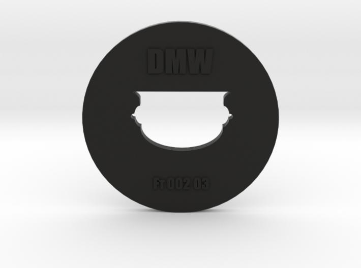 Clay Extruder Die: Footer 002 03 3d printed