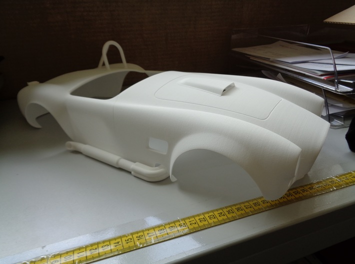 AC Cobra 427 body 3d printed