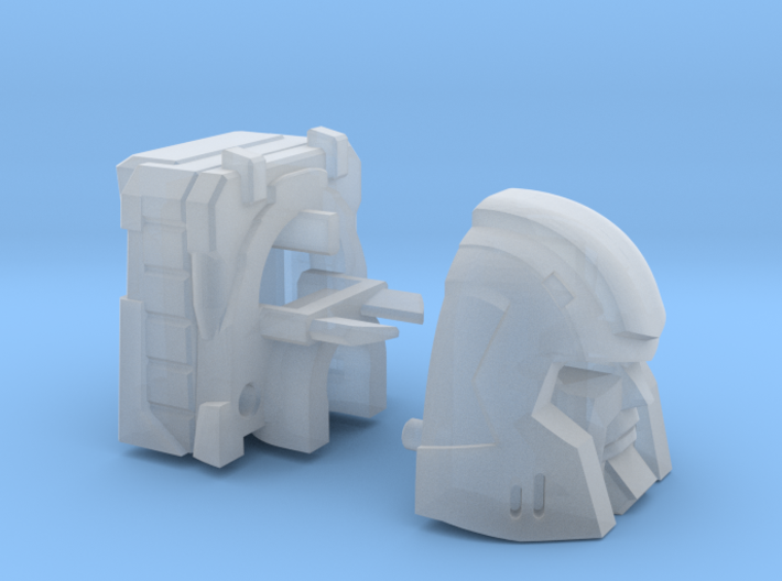 Little Heracles' Head for Combiner Wars Jeeps 3d printed