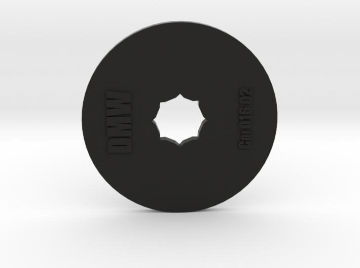 Clay Extruder Die: Coil 016 02 3d printed