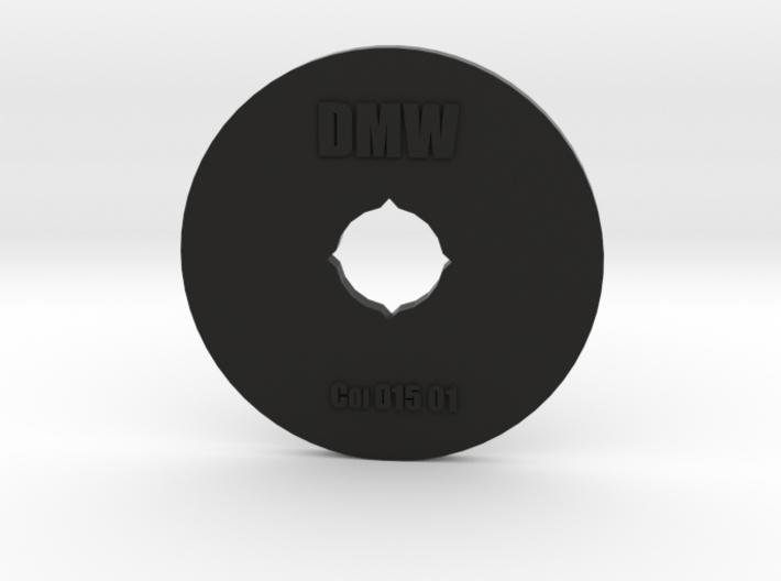 Clay Extruder Die: Coil 015 02 3d printed