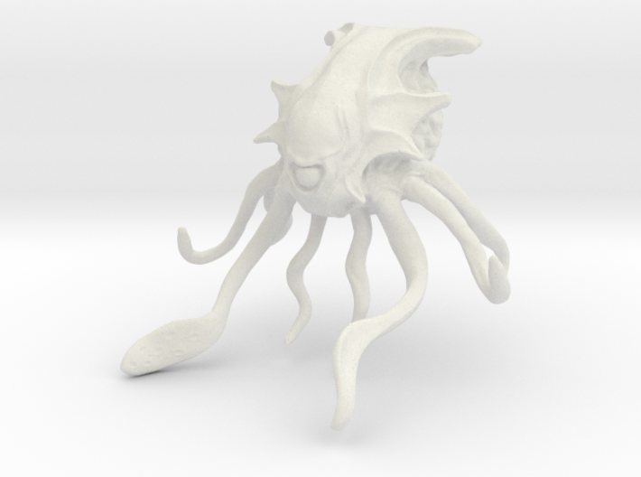Enslaver -alien adversary for war games/sci-fi 3d printed