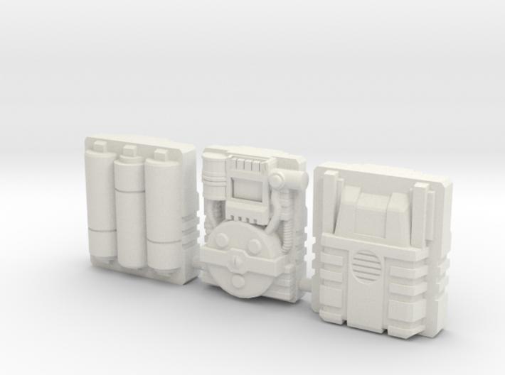 Titan Master Techpacks 3d printed