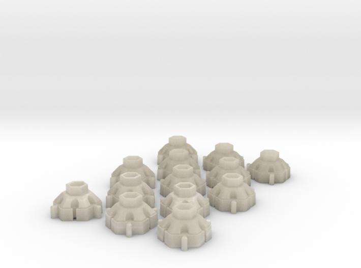 X-briks 3d printed