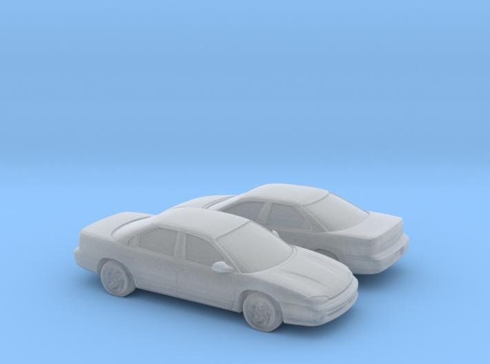 1/160 2X 1993-97 Dodge Intrepid 3d printed