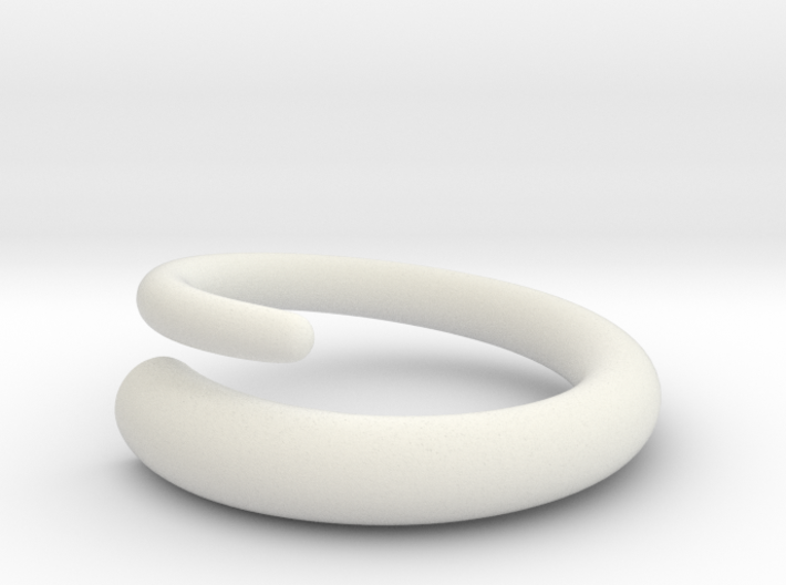 Snap ring. Size 17.5mm 3d printed