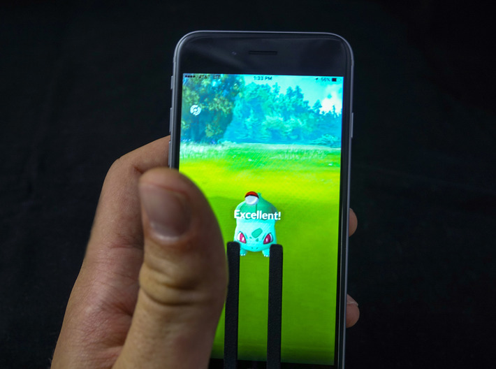 GoThrow Android 3d printed catch em with ease