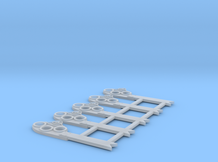 """HO Scale GRS Style A Fishtail Semaphore 42"""" 3d printed"""