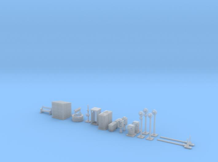 NBV50 level crossing 3d printed