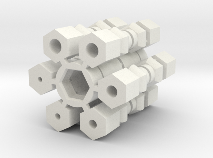 Universal Joint - Drive Shaft version 3d printed