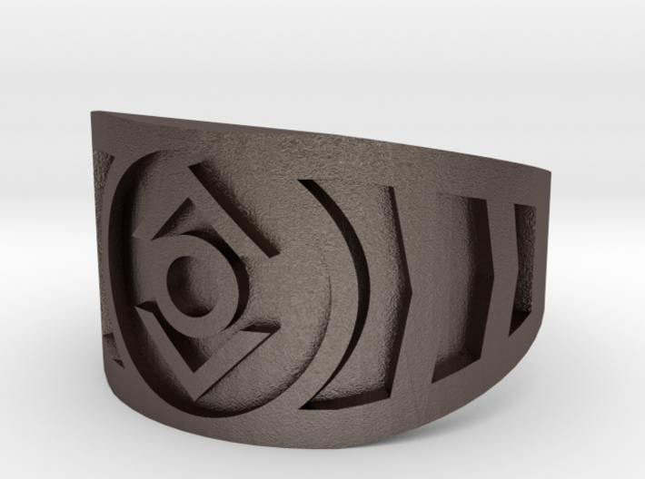Indigo (Band Size 11) 3d printed