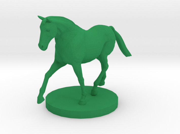 Horse on the Move 3d printed